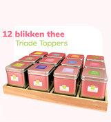 Tray 12 blikken: Triade Toppers